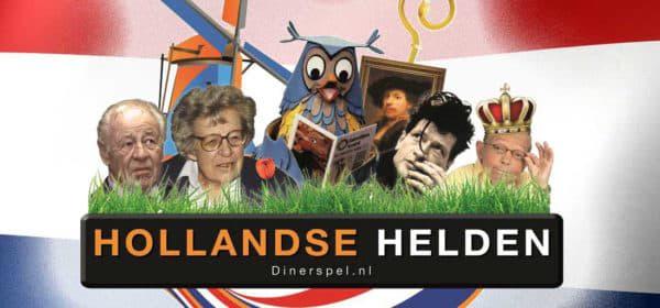 Hollandse helden dinerspel.nl